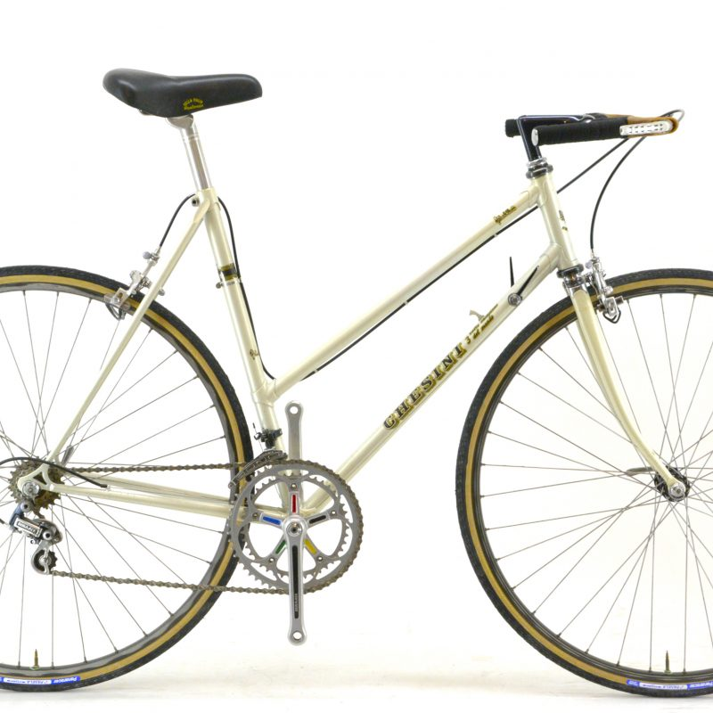 1979 Chesini Vintage Ladies Steel Mixte Road Bicycle