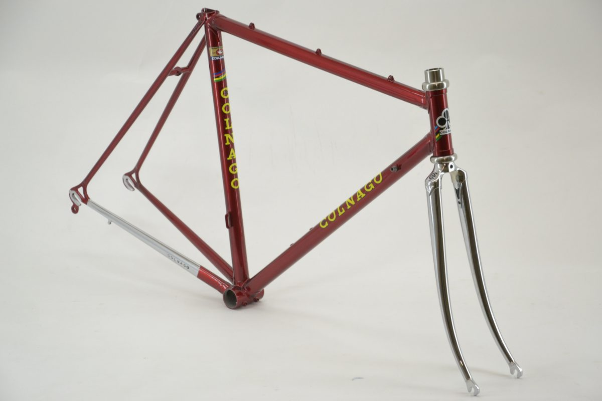Colnago - Repaint job - Candy Apple Red